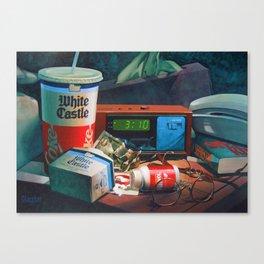 3 a.m. Still Life Canvas Print