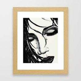 These Tears Framed Art Print