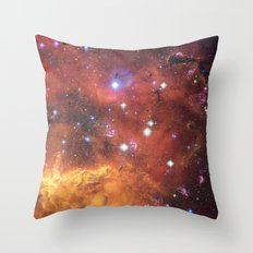 Fires of Space Throw Pillow