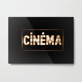 Cinema Metal Print