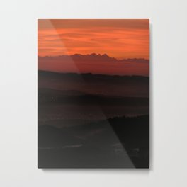 Bavarian Forest Metal Print