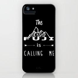 Fuji mountain iPhone Case