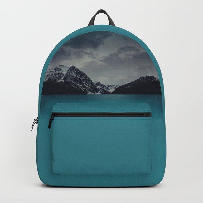 Lake Louise Winter Landscape Backpack
