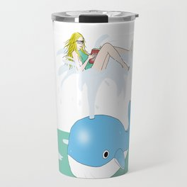 Whale of a time Travel Mug