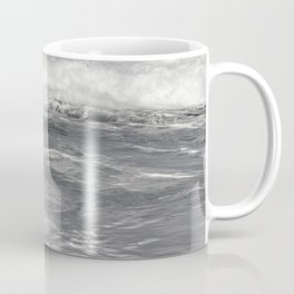 Roiling in Almost Black and White Coffee Mug