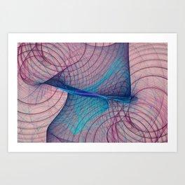 Anatomy Nebula Art Print