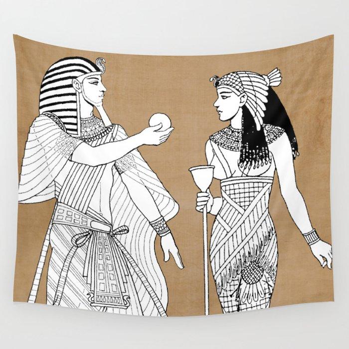 King tut Wall Tapestry