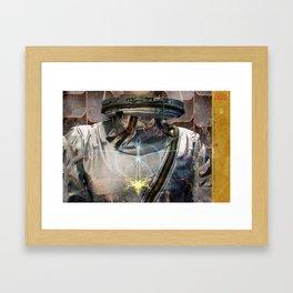 Manic Compression Framed Art Print