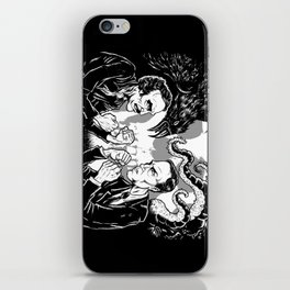 Poe vs. Lovecraft iPhone Skin