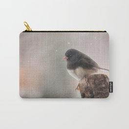Winter Birds - Junco Carry-All Pouch