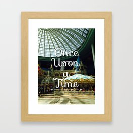 Once Upon a Time II Framed Art Print