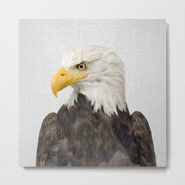 Eagle - Colorful Metal Print