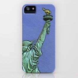 Lady Liberty #6 iPhone Case