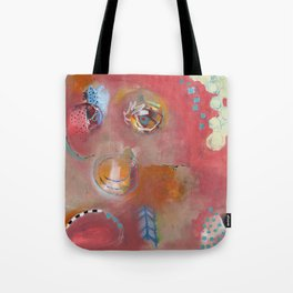 Too Pink For Comfort Tote Bag