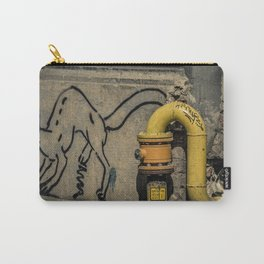 The Cat and the Graffiti Carry-All Pouch