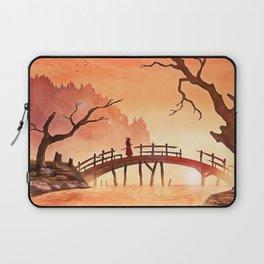 Samurai Scene, Bushido Ronin Laptop Sleeve