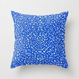 staklo (blues) Throw Pillow