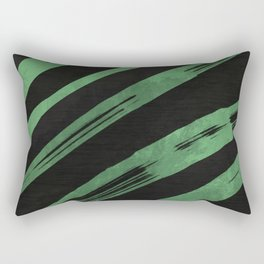 LXP Emerald Ribbons Rectangular Pillow