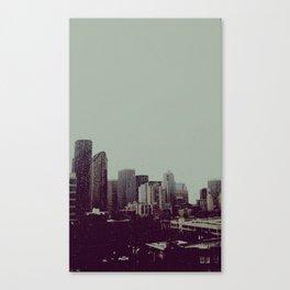 Sleepy Seattle Canvas Print