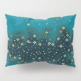Blue Rift Galaxy (8bit) Pillow Sham