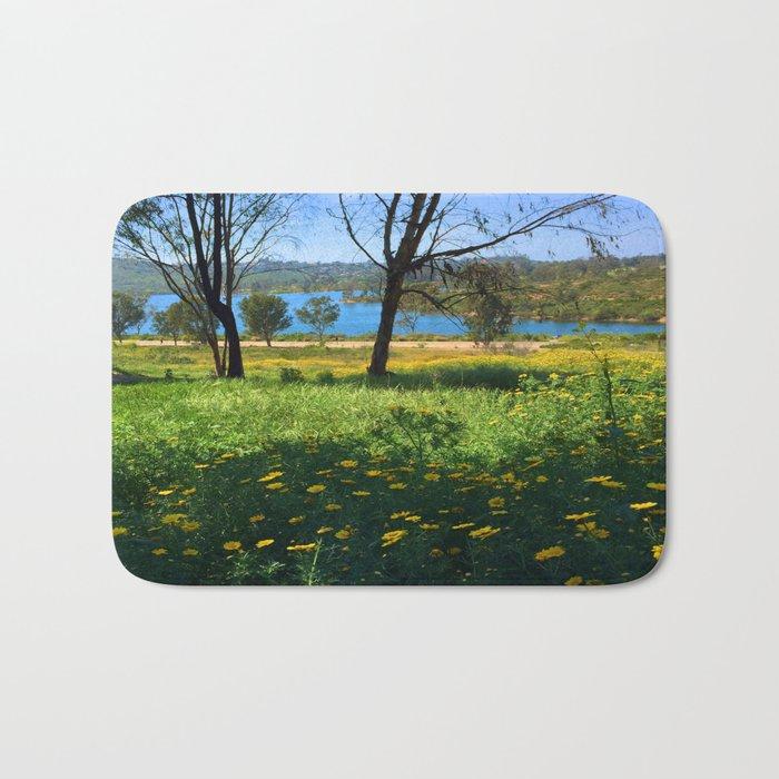Springtime Comes to Lake Murray, La Mesa, CA Bath Mat