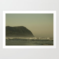 The Oregon Coast Art Print