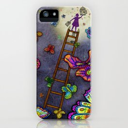 Ladder of Education iPhone Case