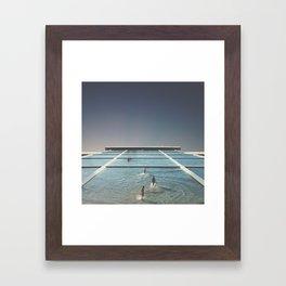       welcome to tomorrow       Framed Art Print