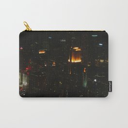 Chicago Skyline Light Show (Chicago Architecture Collection) Carry-All Pouch