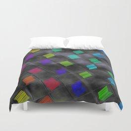 Square Color Duvet Cover