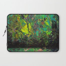 Abstract Distressed #2 Laptop Sleeve