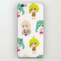 vocaloid iPhone & iPod Skins featuring Gumi/IA/Miku [Vocaloid Collection] by Eules