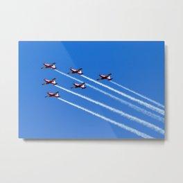 Avalon Airshow - RAAF Roulettes Metal Print