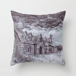 Forsaken Inn Throw Pillow