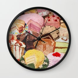 The Icing on the Cake(s) Wall Clock