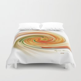 The whirl of life, W1.6A Duvet Cover