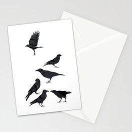 kargalar (crows) Stationery Cards