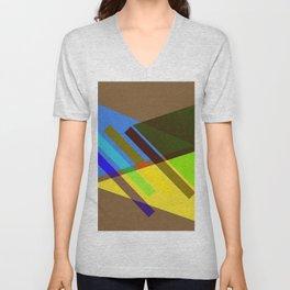 geometric- pattern- deko- Unisex V-Neck