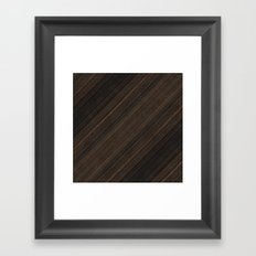 Ebony Macassar Wood Framed Art Print