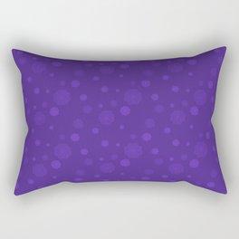Purple prints Rectangular Pillow