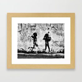 Toy Soldiers Framed Art Print