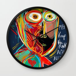 Keep the funk alive Wall Clock