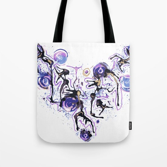Watercolor Necklace Tote Bag