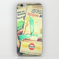 explore iPhone & iPod Skins featuring Explore by Olivia Joy StClaire