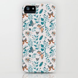 Insects and Moths Frolicking in the Day iPhone Case
