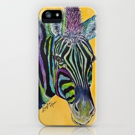 Layla Mae Zebra iPhone Case