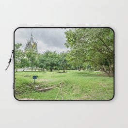 The Killing Fields and Stupa, Cambodia Laptop Sleeve