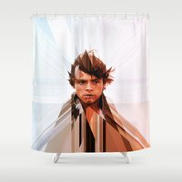 luke hemmings Shower Curtains featuring Luke by Tom Johnson