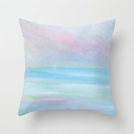 Seascape of a Dream (Cape Cod) Throw Pillow