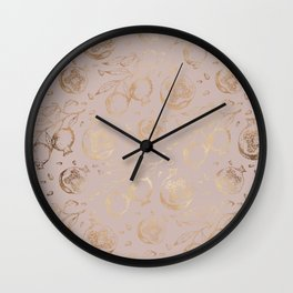 POMEGRANATES I x II Wall Clock